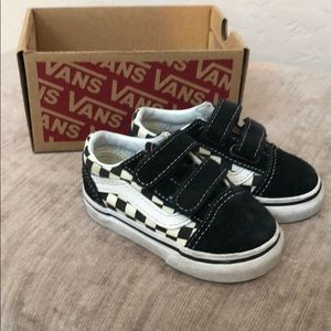 Vans toddler/baby size 4.5 gently used